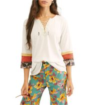 *Free People*  レースアップトップス