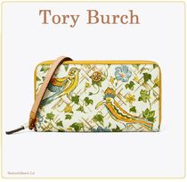 【NEW!】Tory Burch★ROBINSON PRINTED ZIP CONTINENTAL WALLET
