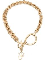 【JW ANDERSON】 GOLD-TONE BRASS NECKLACE