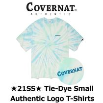 【COVERNAT】★21SS★ Tie-Dye Small Authentic Logo T-Shirts