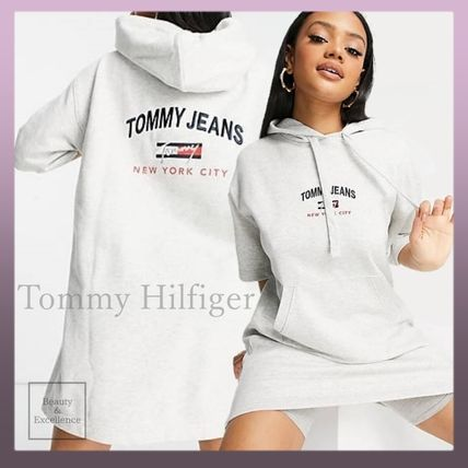 ◆Tommy Jeans◆ 半袖 ロゴパーカー ワンピース *送料&関税込*