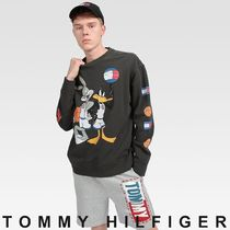 TOMMY JEANS SPACE JAM Sweatshirt 関税なし 国内買付 すぐ届く