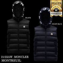 MONCLER(モンクレール) ダウンベスト 累積売上総額第1位!【MONCLER★21/22秋冬】MONTREUIL