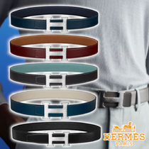 【HERMES】21AW H  belt buckle & strap 5colors leather ベルト