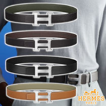 【HERMES】21AW H  belt buckle & strap 4colors leather ベルト