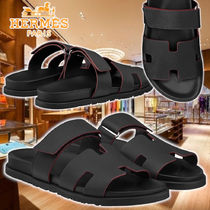 【HERMES】21AW Chypre sandals Noir Leatherサンダル