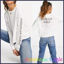 American Eagle Outfitters(アメリカンイーグル) Tシャツ・カットソー American Eagleロゴ長袖Tシャツ