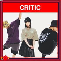 CRITIC(クリティック) Tシャツ・カットソー [CRITIC] BUTTERFLY T-SHIRTS /全3色/兼用◆追跡付