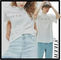NIEEH(ニヒ) Tシャツ・カットソー ☆送料・関税込☆NIEEH★CRYSTAL T-SHIRT.S★Tシャツ★