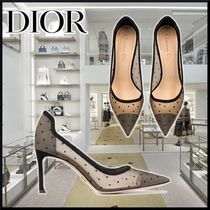 【DIOR】21AW D-MOI PUMPS Plumety Tulle black パンプス