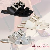 21SS★ROGER VIVIER★Buckle Leather Mule レザー ミュール