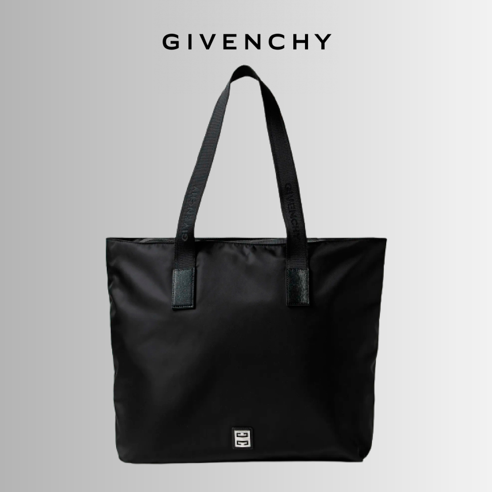 GIVENCHY ロゴ アップリケ レザー トリム ナイロン トートバッグ (GIVENCHY/トートバッグ) 69963920