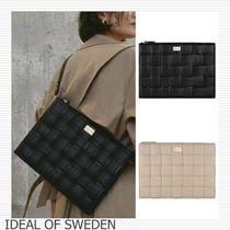 iDEAL OF SWEDEN(アイディール) PCケース・バッグ IDEAL OF SWEDEN#BRAIDED Laptop パソコンケース 編込み/送関込