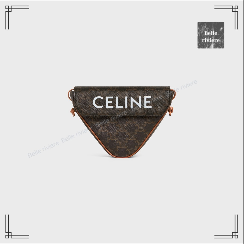 CELINE  21AW new / Triangle bag in Triomphe Canvas (CELINE/バッグ・カバンその他) 69979441