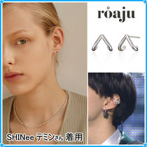 【roaju】covering up earring〜ポストピアス★SHINee/ITZY着用