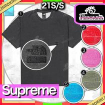 21SS /Supreme The North Face Pigment Printed Pocket Tee
