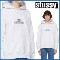 STUSSY CROWN ロゴ フーディ EMBROIDERED