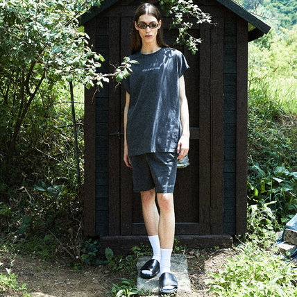 [ INSTANTFUNK ] 21SS Ms Pigment Shorts Charcoal