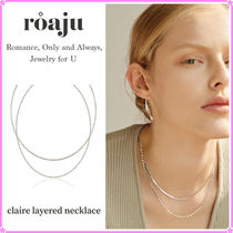 【roaju】claire layered necklace〜ネックレス★HIGHLIGHT 着用