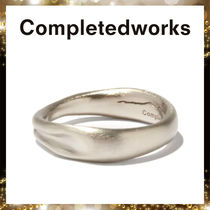 Completedworks(コンプリーテッドワークス) 指輪・リング 【Completedworks】Deflated プラチナプレーテッド リング