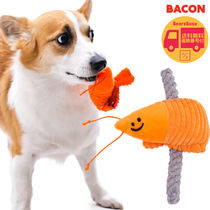 BACON(ベーコン) ペット用おもちゃ BACON Shrimp Skewers Friends Toy BBN1903