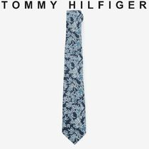TOMMY HILFIGER TAILORED フラワープリントネクタイ すぐ届く