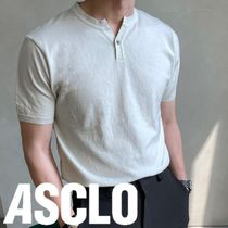 ASCLO Musclefit China Short Sleeve Knit (4color)