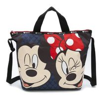 LeSportsac トートバッグ 4360 G791 MICKEY AND MINNIE BLOWUP