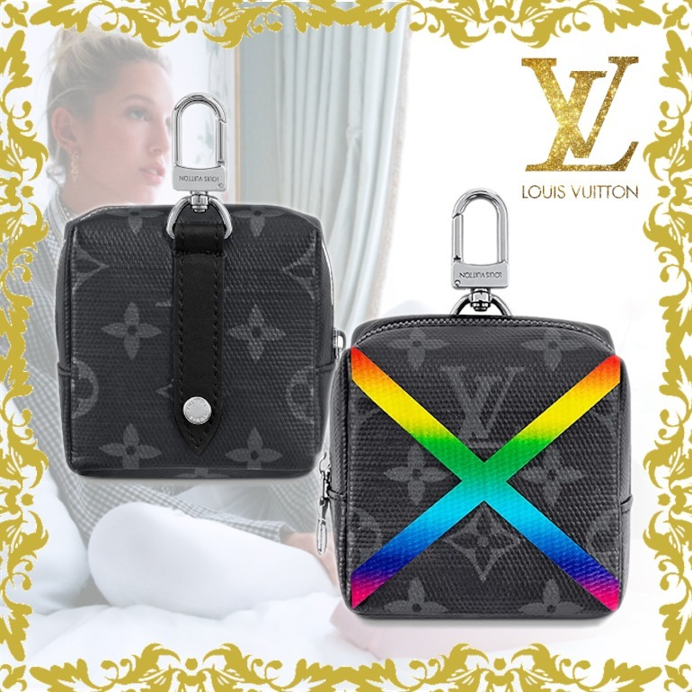 LOUIS VUITTON ボックスポーチ バッグチャーム モノグラム (Louis Vuitton/雑貨・その他) 70064627