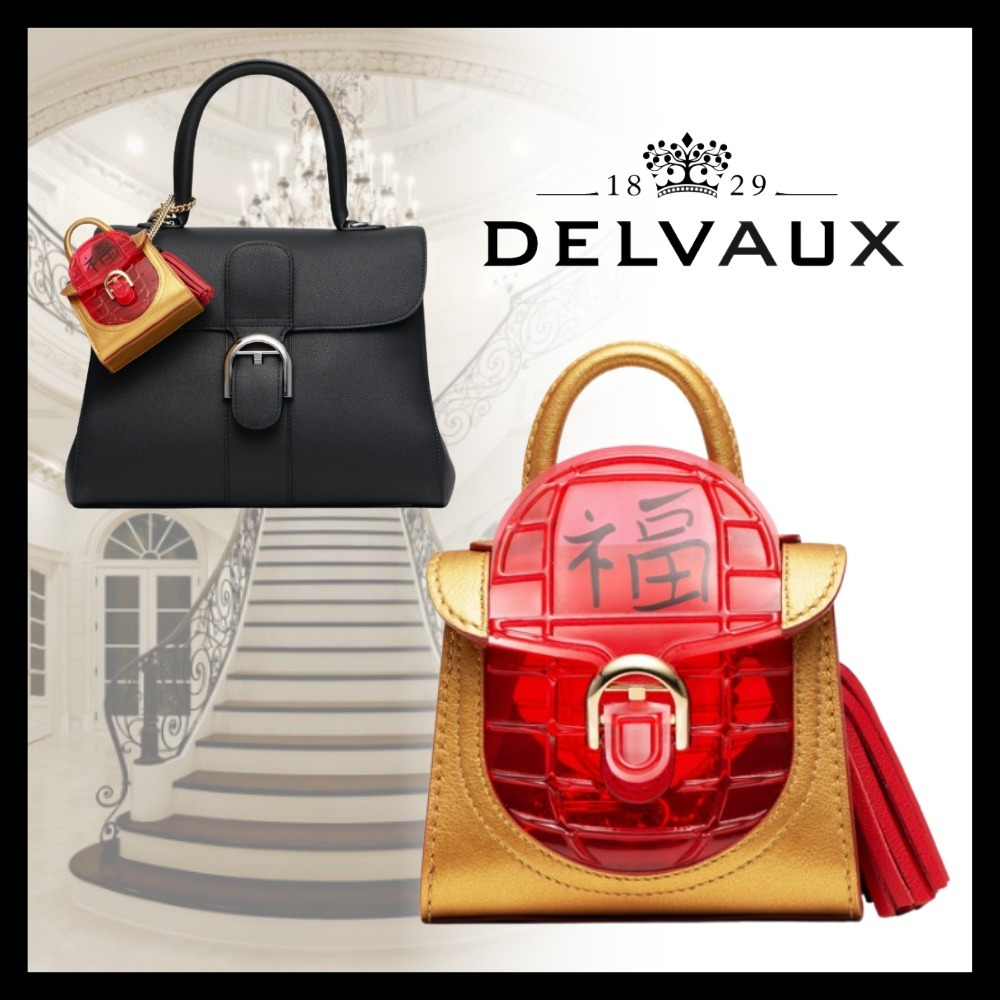 Delvaux デルボー Brillant Charms Chinese Lantern チャーム (DELVAUX/バッグチャーム) 70069182