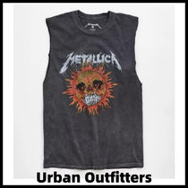 Urban Outfitters(アーバンアウトフィッターズ) Tシャツ・カットソー Urban Outfitters★メタリカ ノースリーブ グラフィック Tシャツ