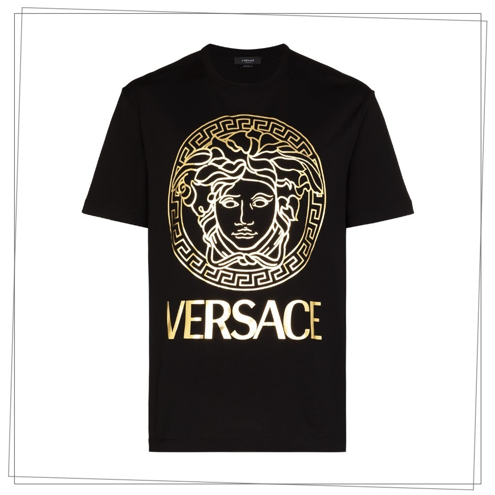 Versace ロゴ Tシャツ (VERSACE/Tシャツ・カットソー) A89286A228806