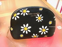 【kate spade】*spencer daisy dots small dome cosmetic case