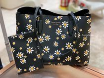 【kate spade】日本未入荷*all day daisy dots large tote
