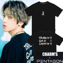 Charm's(チャームス) Tシャツ・カットソー ★CHARM'S★[CHARMS X PENTAGON WOOSEOK]YOU CAN DO IT T-SHIRTS