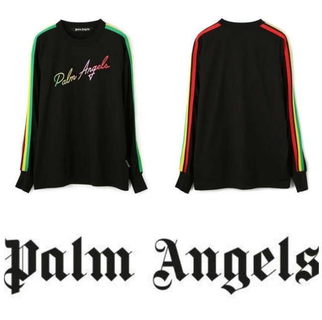 【PALM ANGELS】MIAMI LOGO L/S TEE 要在庫確認 (Palm Angels/Tシャツ・カットソー) 70096630