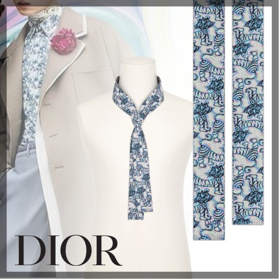 DIOR★ DIOR AND KENNY SCHARF FLOWING TIE * 21AW * (Dior/ネクタイ) 70110465
