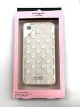 ☆Kate Spade iPhone 11 case ポルカドット/ CR x CL☆