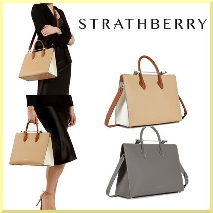 AW2021限定モデル[Strathberry]TOTE BAG☆トートバッグ