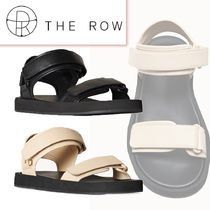 THE ROW☆Hook-and-Loop II in Leather☆レザーサンダル☆送料込