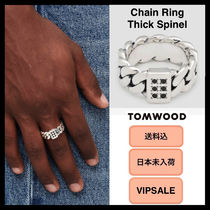 ■VIPSALE・送料込■ Tom Wood Chain Ring Thick Spinel リング