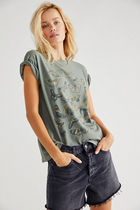Free People ★ Butterfly Tour Tee