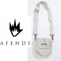 AFENDS(アフェンズ) ショルダーバッグ 【関税/送料込】AFENDS ETERNAL CORD POUCH BAG アフェンズ