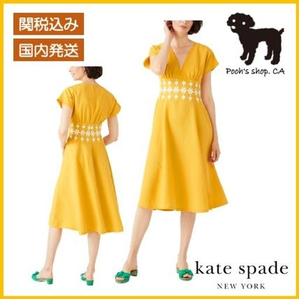 【Kate Spade】daisy embroidered dress◆国内発送◆