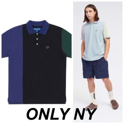 ONLY NY カラーブロック ポロシャツ