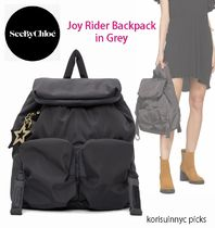 SALE*See by Chloe*Grey Joy Rider Backpack バックパック