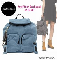 SALE*See by Chloe*BLUE Joy Rider Backpack バックパック