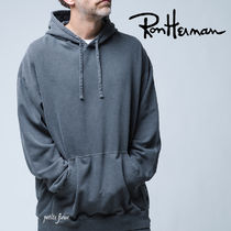 REIGNING CHAMP for RonHerman 2021SS フーディ コラボ 無地