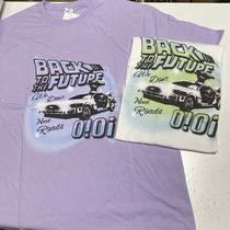 【5252 BY OiOi】UNIVERSAL COLLECTION/BTTF AIR BRUSH T-SHIRTS
