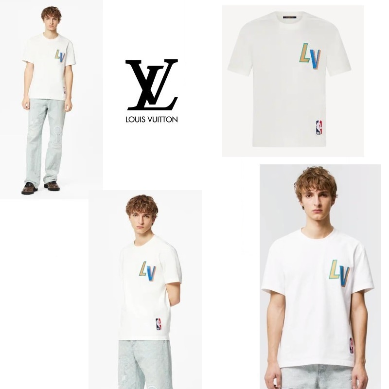 NBAコラボ♪背中に【ルイヴィトン】モノグラム (Louis Vuitton/Tシャツ・カットソー) 1A8X8R  1A8X8S  1A8X8Q